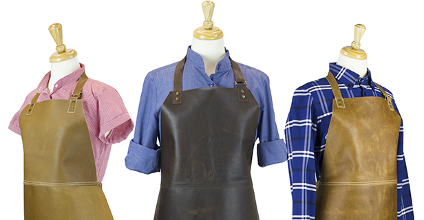 Leather Aprons Combinations