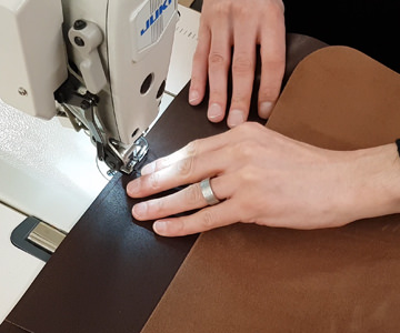 Leather Apron Stitching