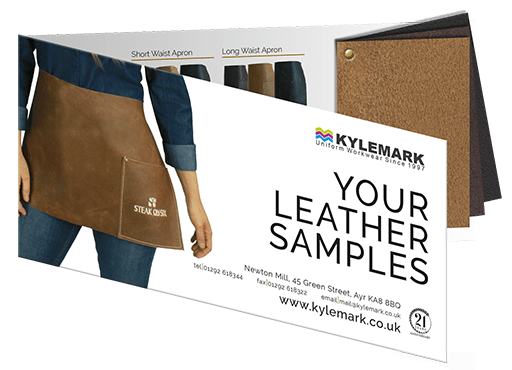 Free leather sample swatch